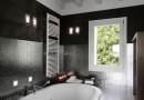 bagno moderno con vasca da incasso